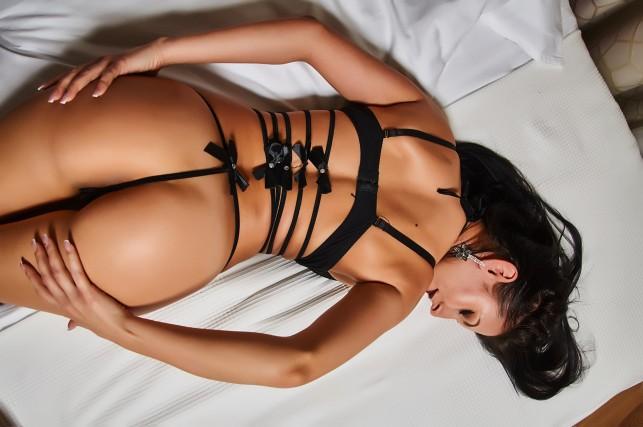 Hôtesse star du sexy show